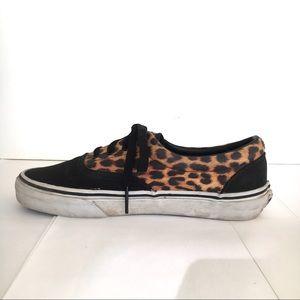 781dd81b33 Vans Shoes - LIKE NEW Vans  era  black leopard sneakers